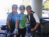 Tia, Sandra and me at Sports Basement