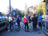 Riders getting ready to head out on our 27 mile journey.