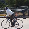 CB (aka Kari) showing some riding skills on O-Ren.