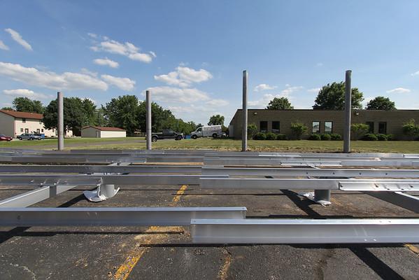 Solar installation 6-1-12