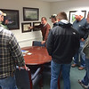 Duane giving REA history lesson to apprentice linemen