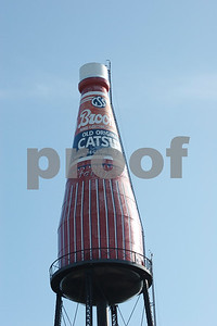 Collinsville Catsup Bottle - JD
