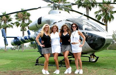 Brandie, Amey, Monica & Heather