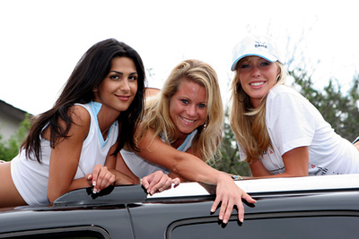 THE PAHR GOLF GIRLS