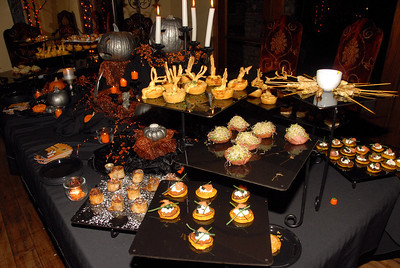 Halloween Themed Appetizers - Shady Tree Benefit