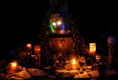 Entry Table Decor at the Halloween Gala at The Lamb Estate, Rancho Santa Fe, Ca. It took my staff & I  3weeks to decorate for this event. We literally transformed this 12,000sq.ft. Estate into The Haunted Mansion at Disney World. WE HAD SO MUCH FUN DECORATING!!! Thanks Kat for all your amazing help and all the laughs.