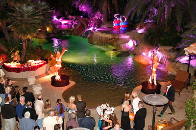 Playboy Mansion Style 50th Bday Party at Sylvester Estates in Rancho Santa Fe.