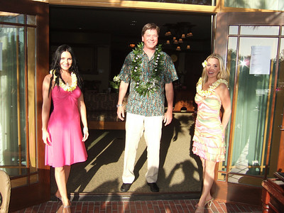 Luau Party Hostesses