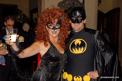 Halloween Themed Party Guests - the fabulous Mary Beth & Hugh Kellee.