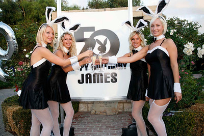 50th Bday - Playboy Mansion Themed Party