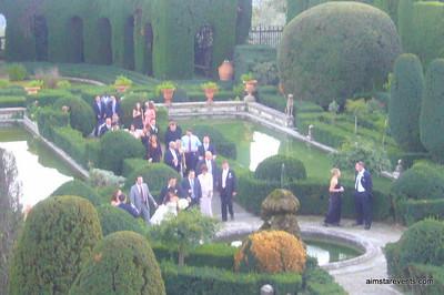 Via Gamberia Gardens - Florence, Italy - Brus Wedding
