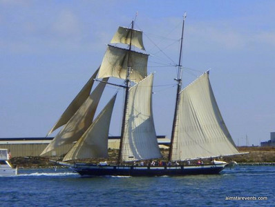 Colonial War Ship - available for charters