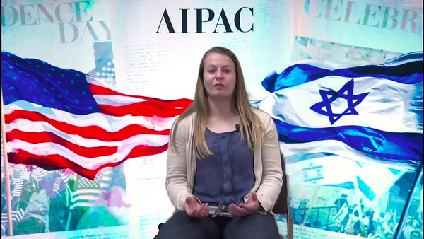 Aiden reflects on her 2017 AIPAC experience