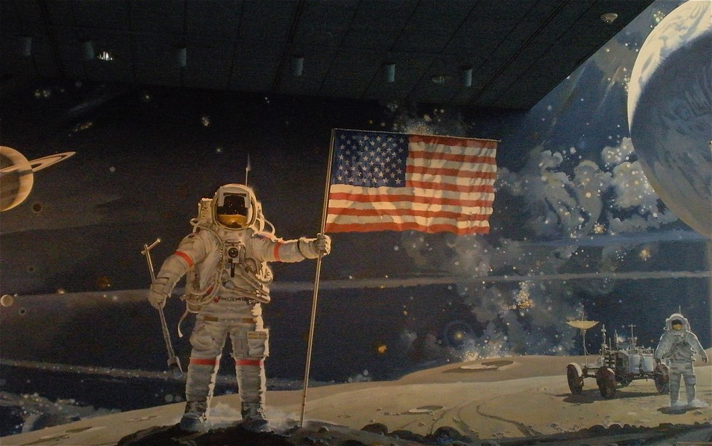Moon Landing: National Air and Space Museum