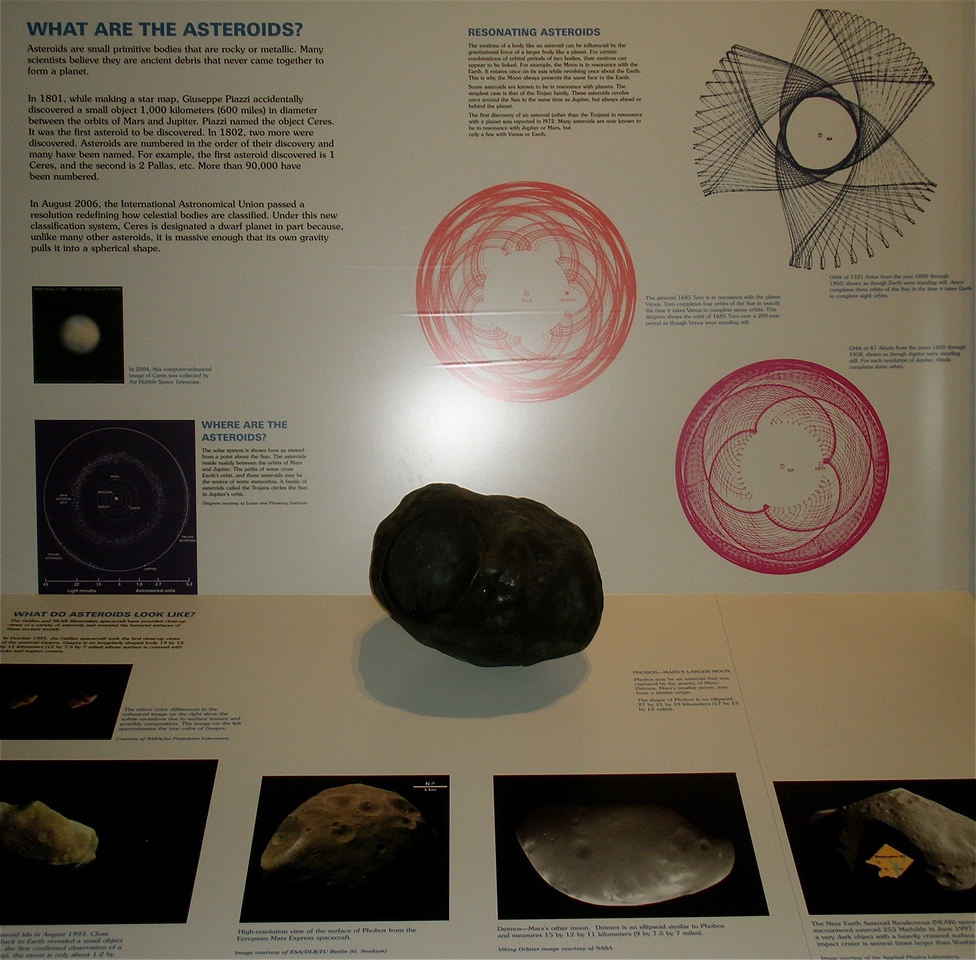 Asteroids: National Air and Space Museum