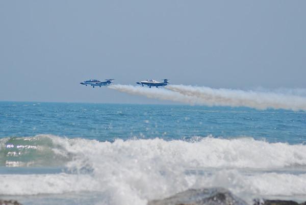 Air Show - THUNDERBIRDS, SKYWRITTERS  OCEAN CITY, MD. 2010