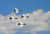 U.S. Air Force Thunderbirds at Sounds of Freedom Air Show, NAS Willow Grove, PA