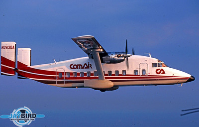 COMAIR WAS ONE OF THE EARLY OPERATORS OF THE SHORTS 330.  THE COMPANY ALWAYS HELD A WARM SPOT IN MY HEART BECAUSE IT WAS THE SUBJECT OF MY VERY FIRST PUBLISHED MAGAZINE ARTICLE