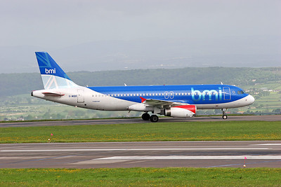 BMI A320 G-MIDR.