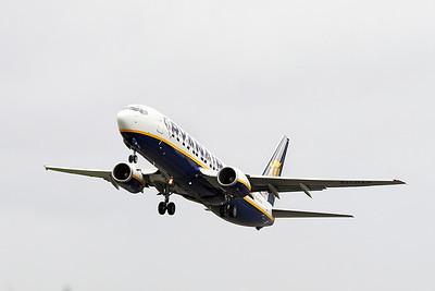 Ryanair B737 EI-DAP departing.