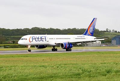 Flyjet B757 G-FJEB