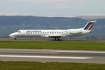 Air France EMB 145 F-GVHD, Lulsgate 9th April 2003.