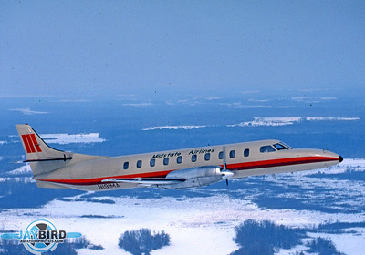 The Swearingen Metro was essentially a stretched Merlin corporate transport. For many years, it was the only pressurized aircraft built for the commuter airline market. Earlier models were limited by regulations to 12,500 lbs fully loaded. As a result, the early Metros were severely weight-restricted. In 1980, weight restrictions were raised to 14,000 lbs, and Swearingen immediately began work on the Metro III. Midstate was an early operator of the Metro III