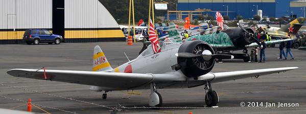 Warriors & Warbirds Antique Air Show - Monroe, NC  11-9-14