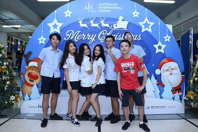 AIS Vietnam | Christmas Party @ Thu Thiem Campus | instant print photo booth in Ho Chi Minh City | Chụp ảnh in hình lấy liền Giáng sinh | Photobooth Saigon