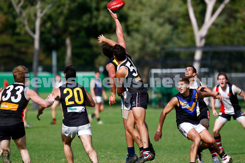 22-4-17. AJAX 2nds lost to Old Carey at Gary Smorgon Oval. Photo: Peter Haskin