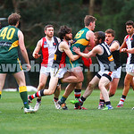 2-8-15. AJAX Black won a thriller against Old Trinity at Daley Oval.  With scores level late in the last quarter, a goal with seconds left on the clock secured Ajax the win 11.5 - 71 to Trin ...