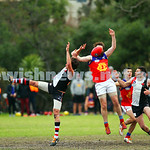 27-6-15. VAFA. AJAX defeated Fitztroy at the Gary Smorgon Oval. Photo: Peter Haskin