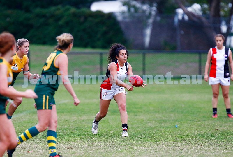 14-5-17. AJAX Jackettes 10-8-68 def  Hampton Rovers 0-2-2.  Photo: Peter Haskin