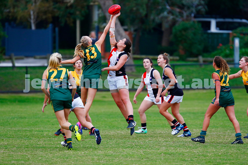 14-5-17. AJAX Jackettes 10-8-68 def  Hampton Rovers 0-2-2. Madeline Smart. Photo: Peter Haskin