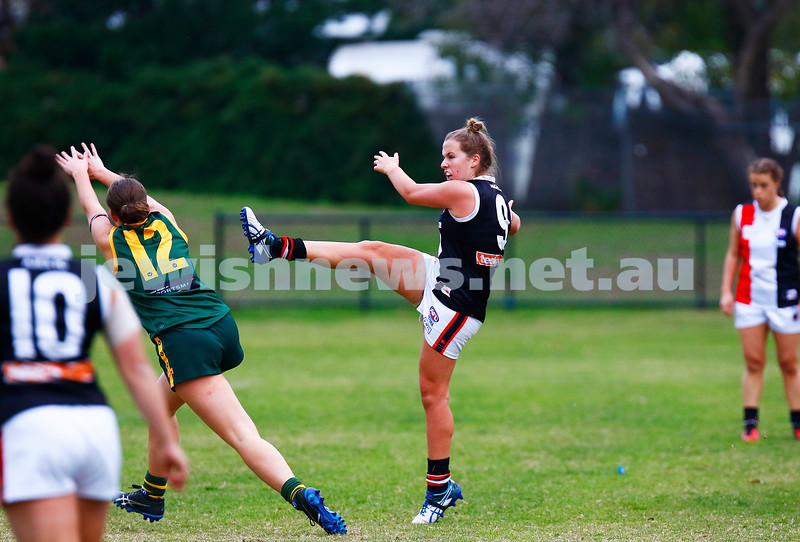 14-5-17. AJAX Jackettes 10-8-68 def  Hampton Rovers 0-2-2.  Ally Bild. Photo: Peter Haskin