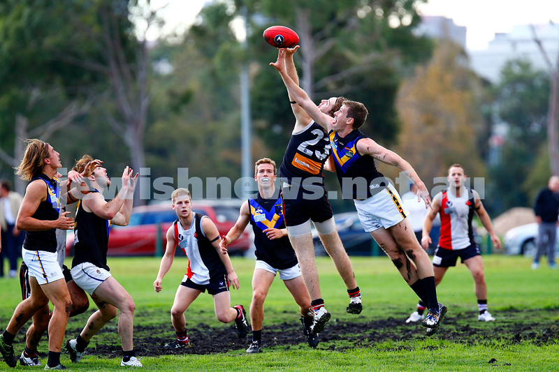 22-4-17. AJAX 11-12-78 def  Old Carey 11-10-76 at Gary Smorgon Oval. Photo: Peter Haskin