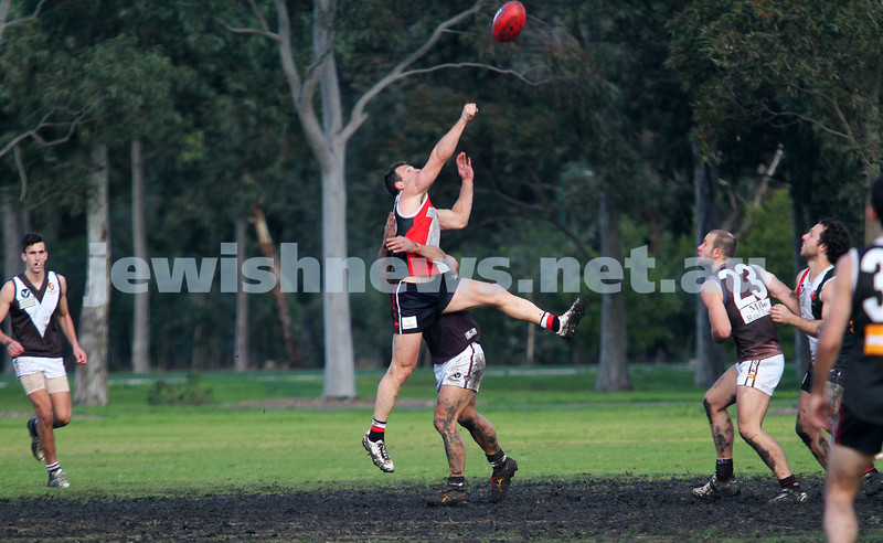 2-8-14. AJAX defeated Old Ivanhoe by 27 points at Gary Smorgon Oval. Photo: Peter Haskin