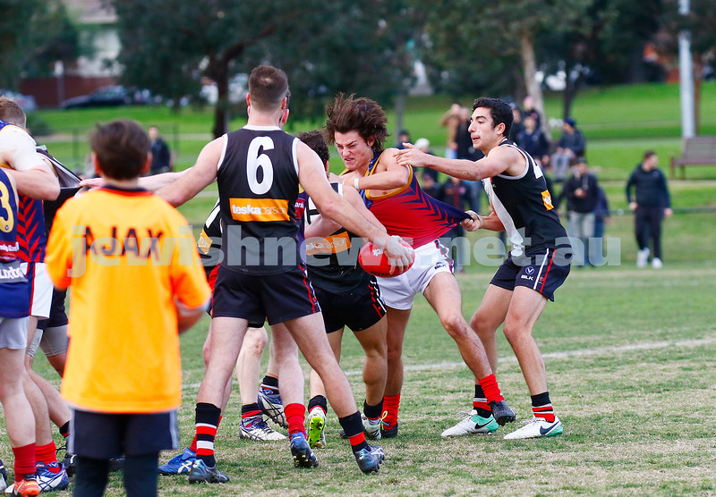 24-6-17. AJAX 14.11.95 def Parkdale 7.10.52 at Princes Park. Photo: Peter Haskin