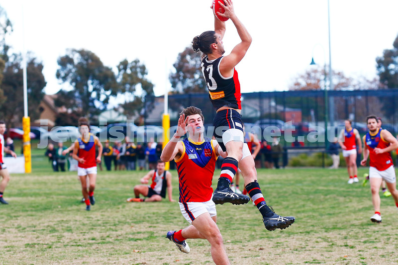 24-6-17. AJAX 14.11.95 def Parkdale 7.10.52 at Princes Park. Zac Braun. Photo: Peter Haskin