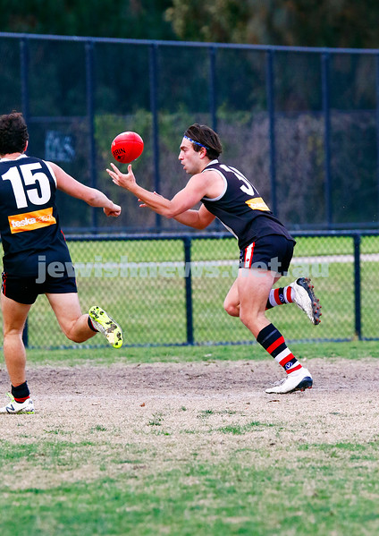 24-6-17. AJAX 14.11.95 def Parkdale 7.10.52 at Princes Park. Brandon Joel. Photo: Peter Haskin