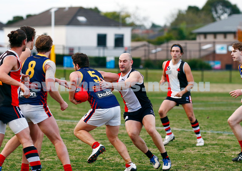 24-6-17. AJAX 14.11.95 def Parkdale 7.10.52 at Princes park. Ashley Kalb. Photo: Peter Haskin