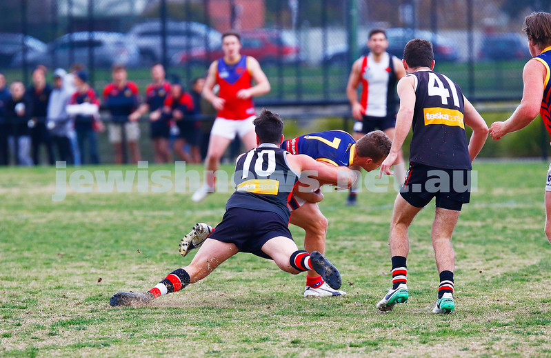 24-6-17. AJAX 14.11.95 def Parkdale 7.10.52 at Princes Park. Adam Caplan. Photo: Peter Haskin