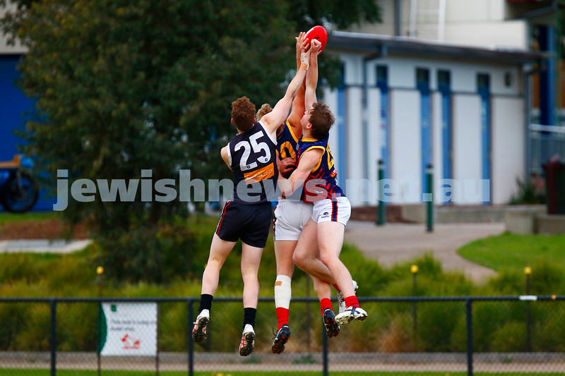 24-6-17. AJAX 14.11.95 def Parkdale 7.10.52 at Princes Park. Jake Lew. Photo: Peter Haskin