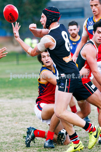 24-6-17. AJAX 14.11.95 def Parkdale 7.10.52 at Princes Park. Zak Fleischer. Photo: Peter Haskin