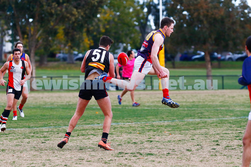 24-6-17. AJAX 14.11.95 def Parkdale 7.10.52 at Princes Park. Daniel Goodman. Photo: Peter Haskin