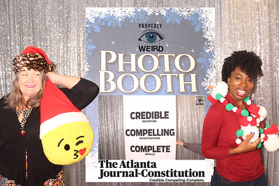 AJC Holiday Photo Booth