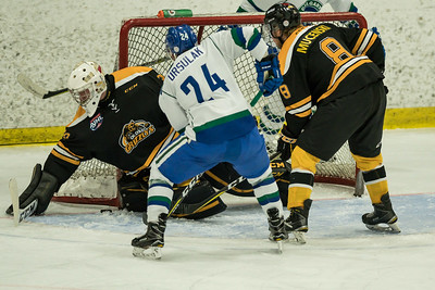 Nov 3 2017 Calgary Canucks host Olds Grizzlys