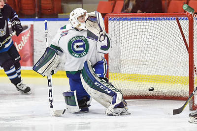 Oct 3, 2107 Calgary Canucks host the Canmore Eagles