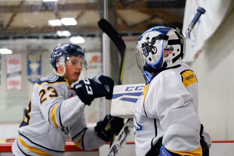 AJHL Regular Season 2017 -- Sep 17 Mustangs vs Canmore