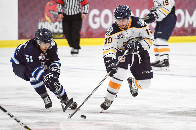 AJHL Regular Season 2017 -- Mustangs vs Canmore